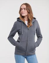 Ladies Authentic Zipped Hood